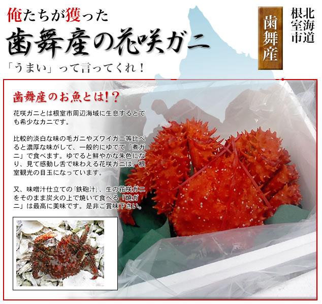 北海道根室市歯舞花咲かにかご部会